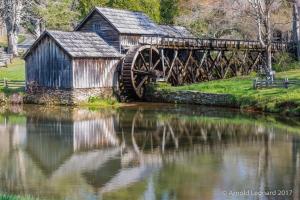 Mabry Mill Reflections
