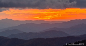 Smoky Mountains Sunset