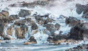 Great Falls in Ice