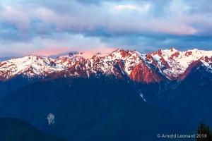 Olympic Mountains Sunrise