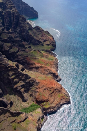 Nā Pali from Above