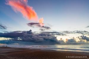 Sunrise Storm Over the Atlantic